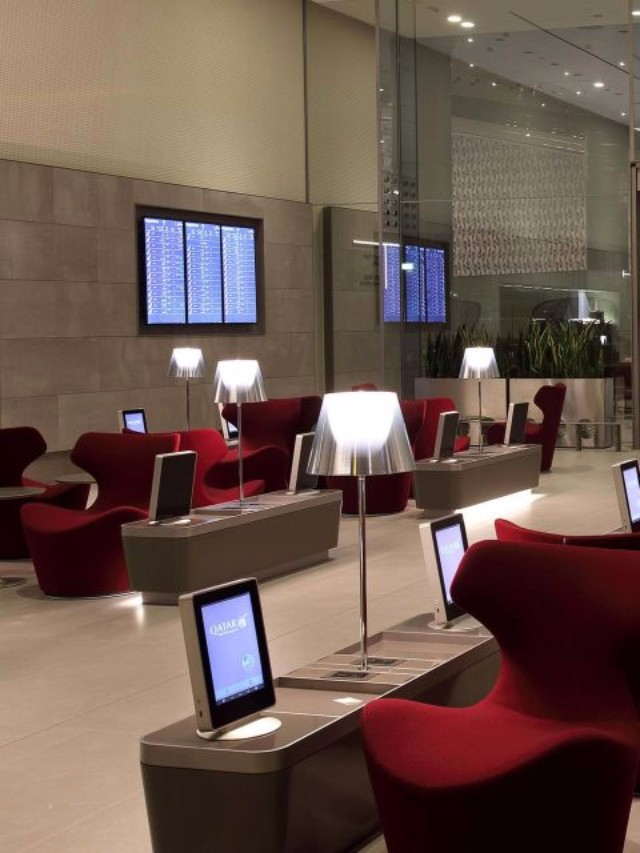 7 Airport Lounges That Will Inspire You To Travel More  7 Airport Lounges That Will Inspire You To Travel More Qatar Airways Al Mourjan Business Class Lounge Doha