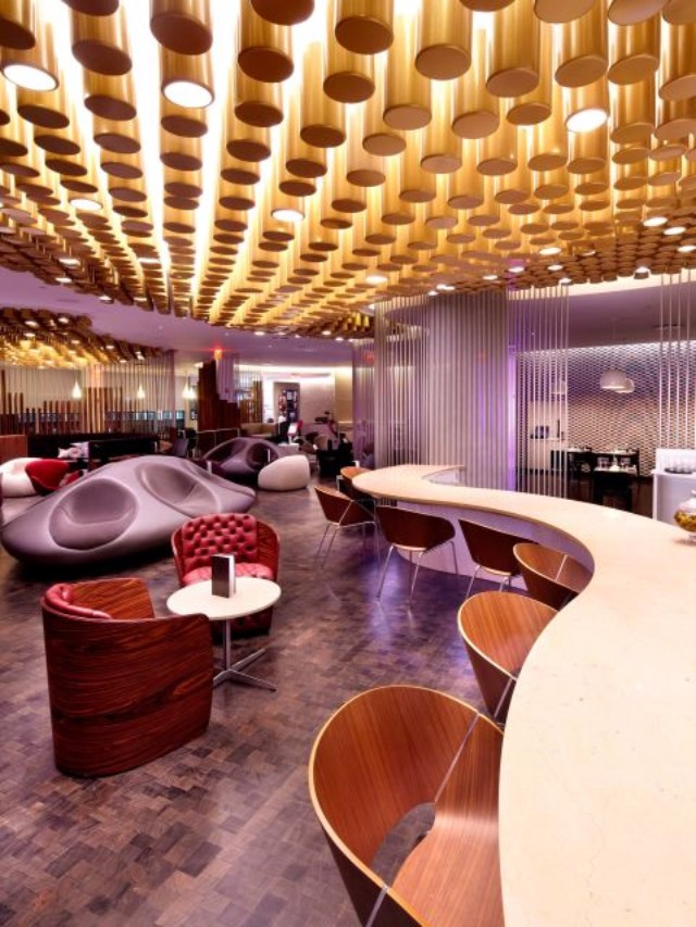 7 Airport Lounges That Will Inspire You To Travel More  7 Airport Lounges That Will Inspire You To Travel More Virgin Atlantic Clubhouse New York JFK