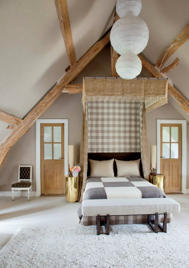 10 Dreamy Bedroom Design Ideas By Top French Interior Designers rustic bedroom jean louis deniot loire valley france 201305 3 1000 watermarked