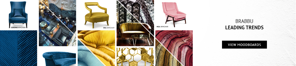 A Week In Colors: Five Color Trends To Add To Your Home Decor V