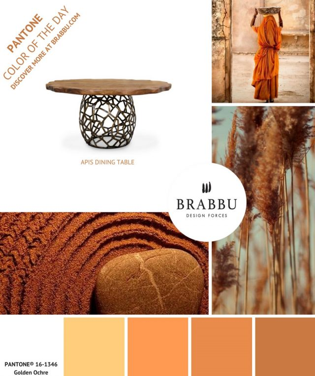 A Week In Colors: Five Color Trends To Add To Your Home Decor IV  A Week In Colors: Five Color Trends To Add To Your Home Decor IV Golden Ochre e1498495662960