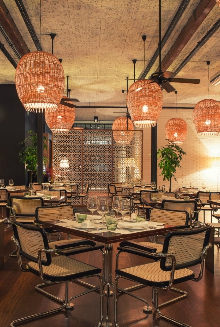 10 Incredible Restaurant Interior Design Projects Around The World