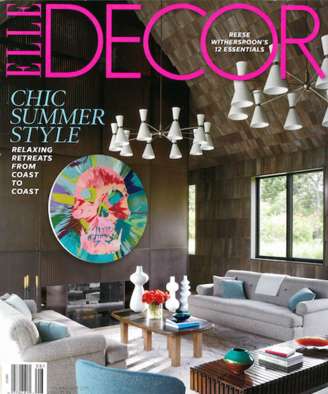 interior design magazines interior design magazines 10 Top Interior Design Magazines Around The World Elle Decor July Aug 2015 Cover