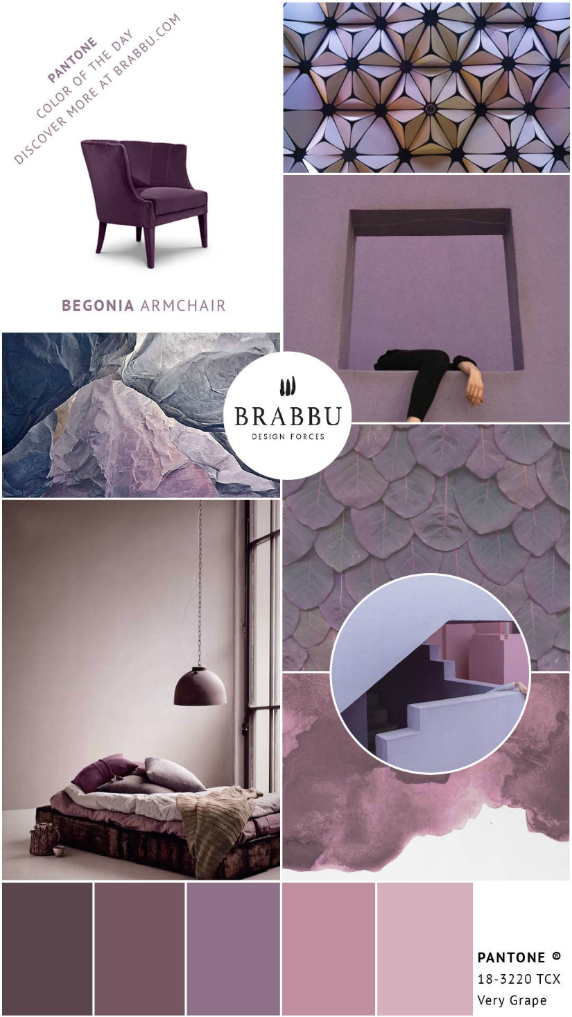A Week In Colors: Five Color Trends To Add To Your Home Decor XI |home decor, color trends, modern interior design #colortrends #interiordesign #homedecor  home decor A Week In Colors: Five Color Trends To Add To Your Home Decor XI Very Grape