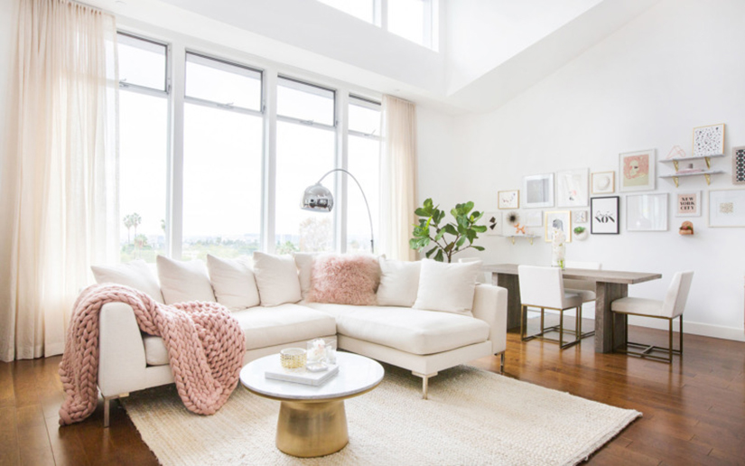How To Decorate With Millennial Pink: The Stylish Color Of The Moment Millennial Pink How To Decorate With Millennial Pink: The Stylish Color Of The Moment millennial pink decor lead