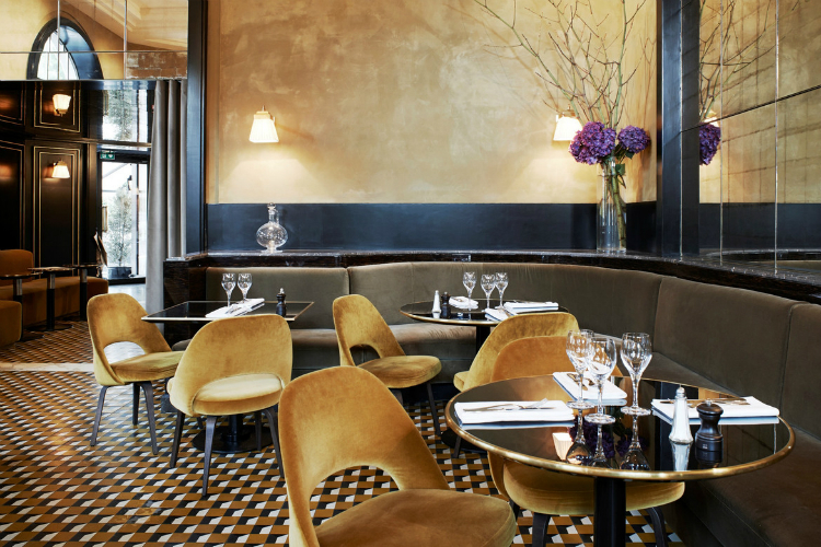 interior design and sofas maison et objet 2017 maison et objet 2017 Where To Eat In Paris During Maison et Objet 2017: Le Flandrin rest6