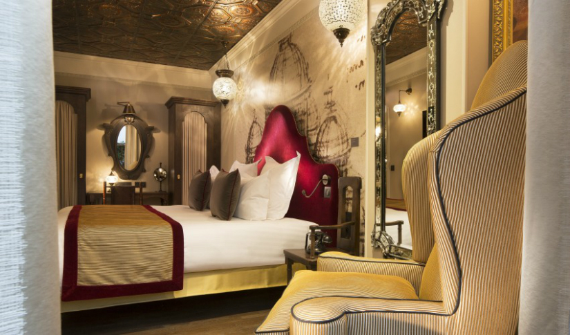 mona liza room Maison et Objet 2017 maison et objet 2017 Where To Stay In Paris During Maison et Objet 2017: Da Vinci Hotel vinci3