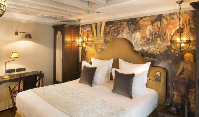 renaissance room hotel Maison et Objet 2017  maison et objet 2017 Where To Stay In Paris During Maison et Objet 2017: Da Vinci Hotel vinci6