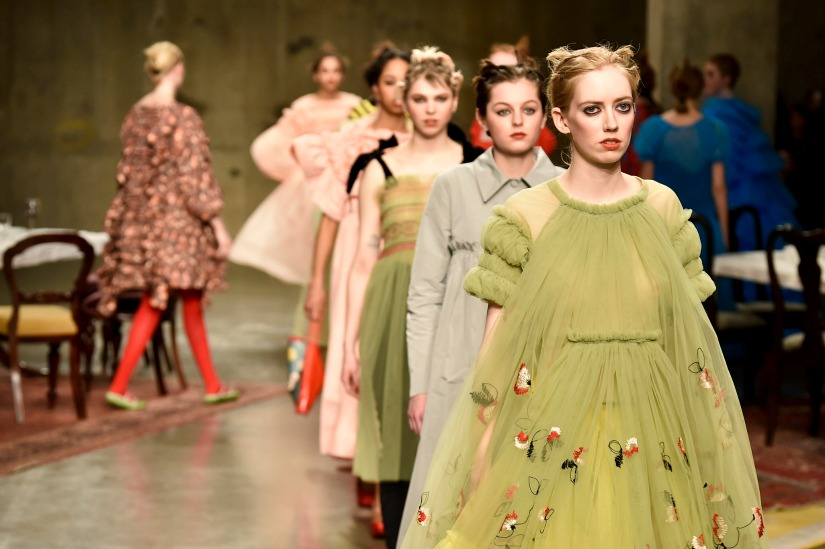 Designers To Look Out For at London Fashion Week London Fashion Week Designers To Look Out For at London Fashion Week molly goddard rtw fall 2017 london fashion week aw17 32