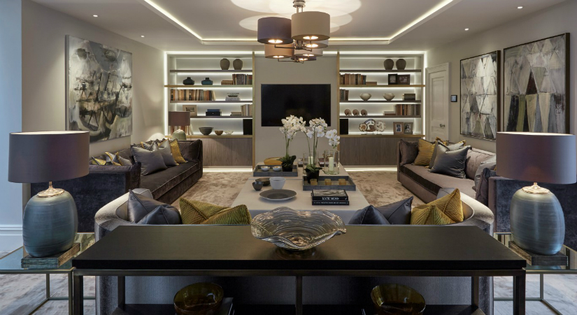7 Beautifully Designed Rooms By Laura Hammett laura hammett 7 Beautifully Designed Rooms By Laura Hammett Family Room Wilton Street Residence One Medium