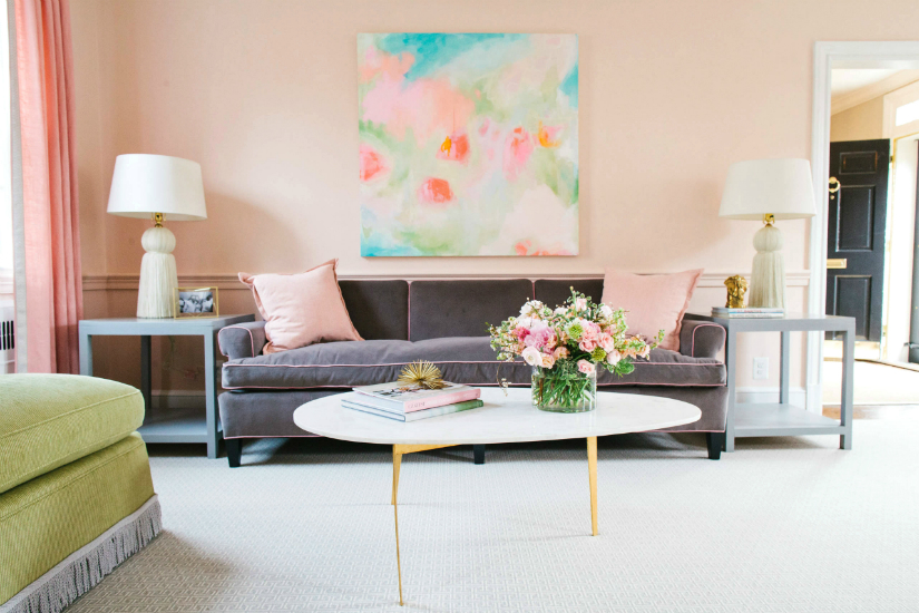 2018 color trends 2018 color trends Pink Paint Shade: one of the 2018 color trends Imagem