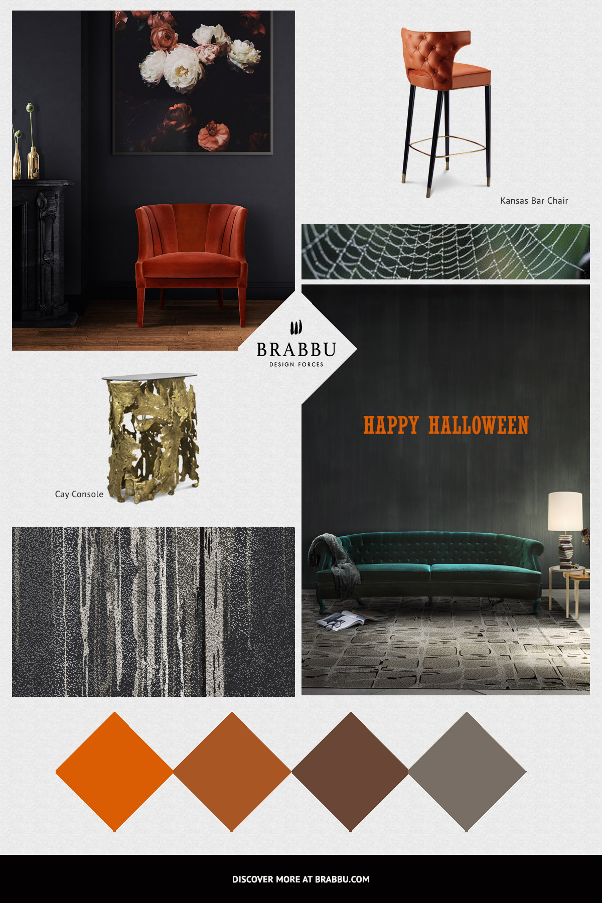 Decorating Ideas decorating ideas Halloween Decorating Ideas to Celebrate the Date Moodboard Halloween