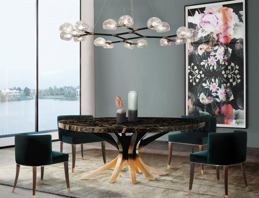 Luxury Design Furniture To Inspire a Perfect Dining Room Decor dining room decor Luxury Design Furniture To Inspire a Perfect Dining Room Decor brabbu ambience press 95 HR