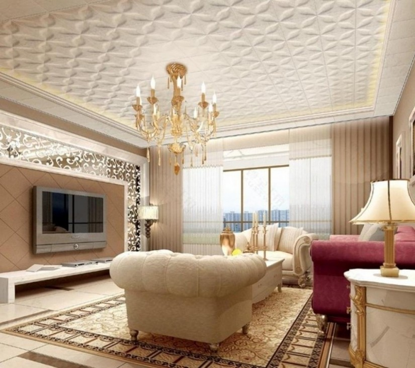 interior design trends interior design trends Statement Ceilings are Romantic and Dramatic Interior Design Trends ceiling9