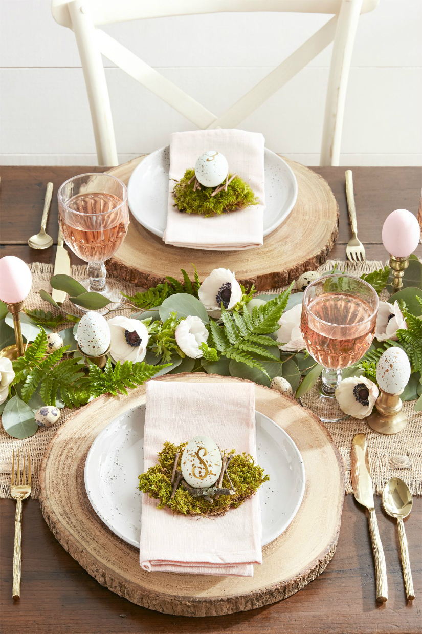 10 Elle Decor Inspiration Ideas For Your Easter Brunch Table