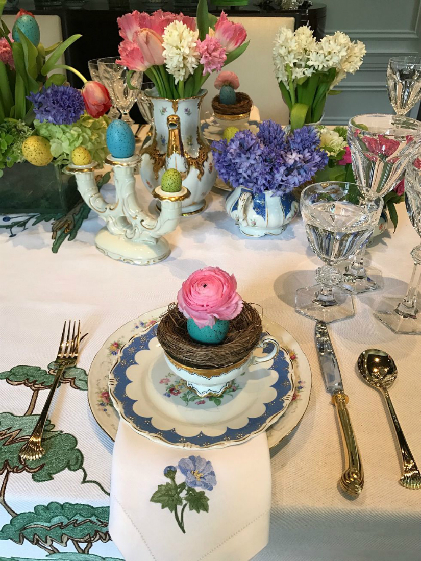 10 elle decor inspiration ideas for your easter brunch table Brunch table decorations