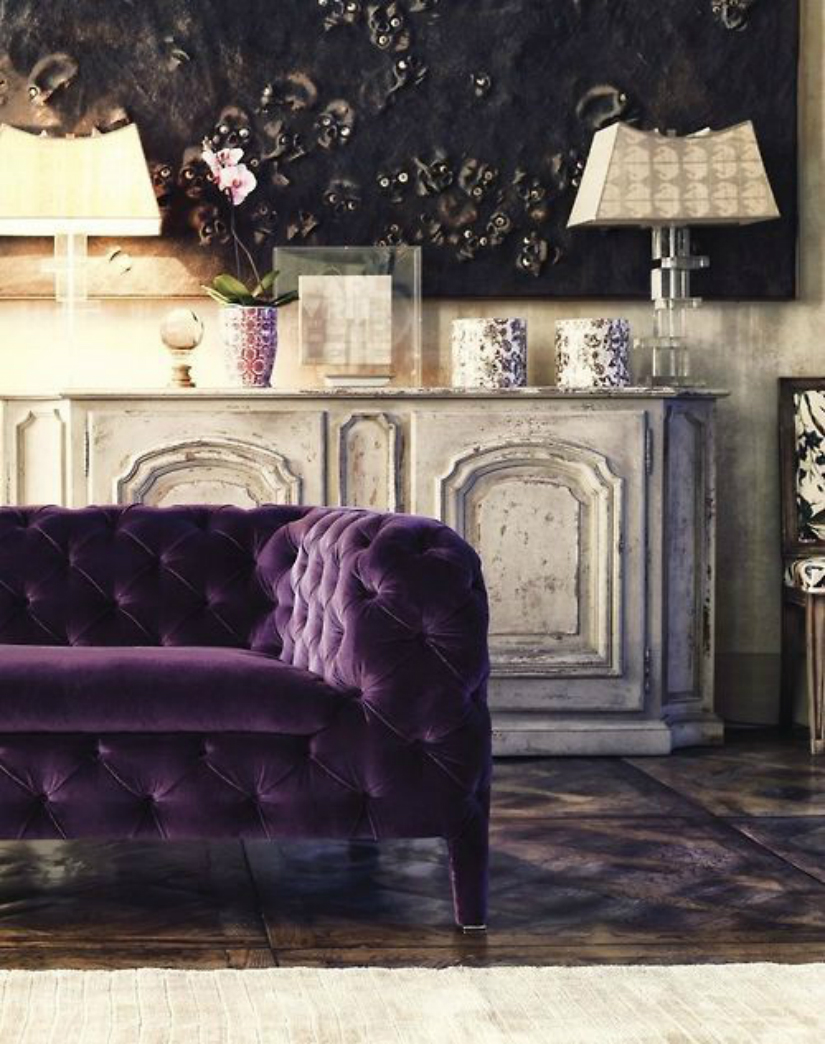 Home Decor Ideas Home Decor Ideas with Pantone Color of the Year ultraviolet