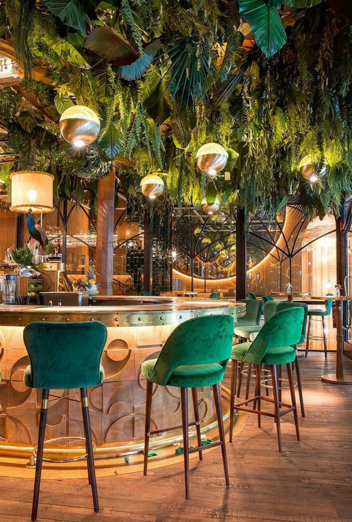 Upholstered Bar Chairs: 10 Inspiring Restaurant Designs