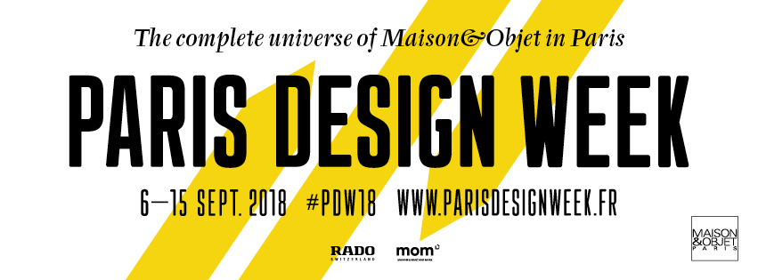 Meet the Best Masters of Design at Paris Design Week paris design week Meet the Best Masters of Design at Paris Design Week PDW 2018 Visuel FACEBOOK eng