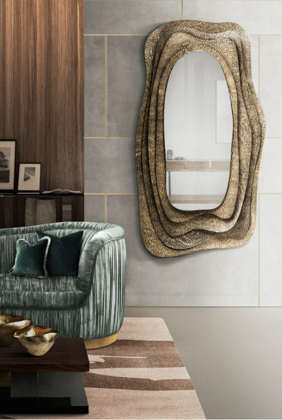wall mirrors Remarkable Wall Mirrors That Add Interest Remarkable Wall Mirrors 552x820