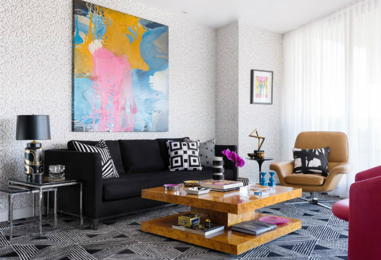 fall winter trends fall winter trends Fall Winter Trends: The Design Trends to Rock this Season Decor Geometric Patterns and Andy Warhol Meet in this Eclectic Interior 2