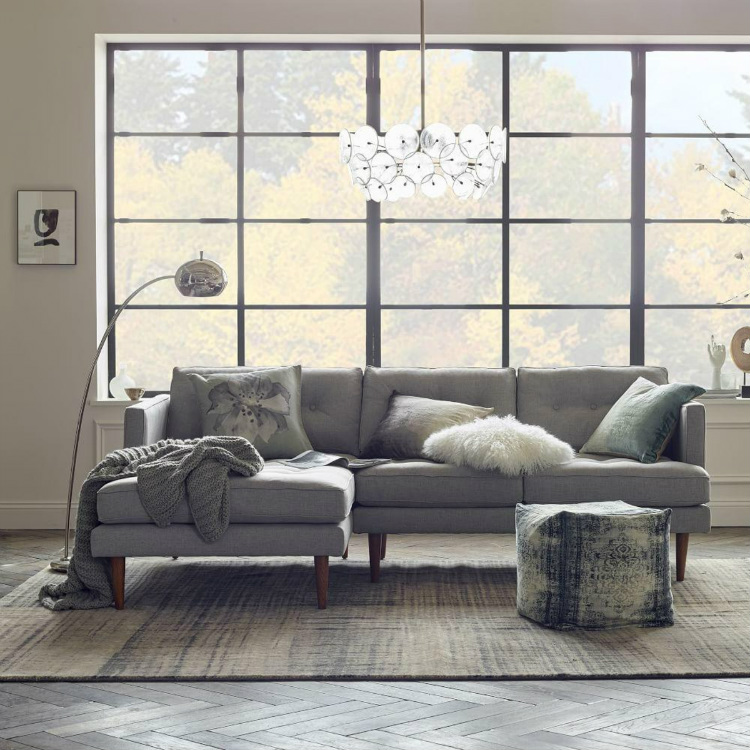 rugs Interior Design Ideas: Outstanding Rugs for Any Home Decor West Elm   s Abrash rug