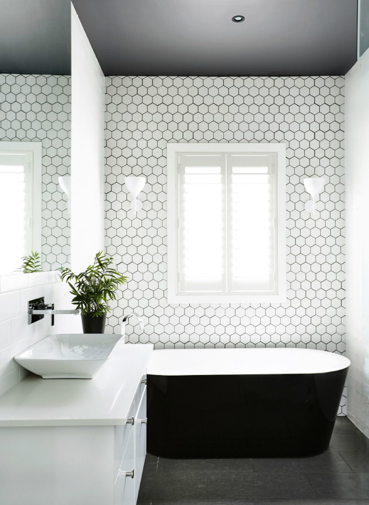 Minimalist bathroom minimalist bathroom Minimalist bathroom design ideas nautical bathroom ideas pinterest new get the look with the ames soho series hexagons on the wall www of nautical bathroom ideas pinterest