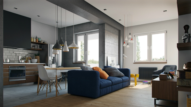 fall winter trends fall winter trends Fall Winter Trends: The Design Trends to Rock this Season Decor navy blue sofa