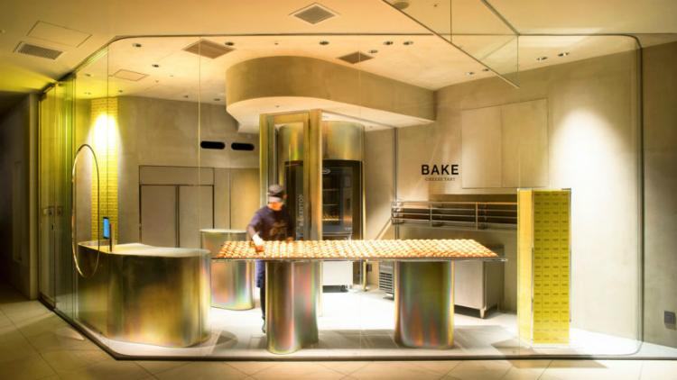 Dezeen Awards dezeen awards The best of design and architecture: The Dezeen Awards 2018 winners Bake Cheese Tart Abeno Harukas Shop by Yagyug Douguten