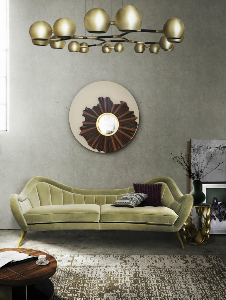 velvet sofas How To Use Velvet Sofas in Your Living Room Decor Hermes sofa