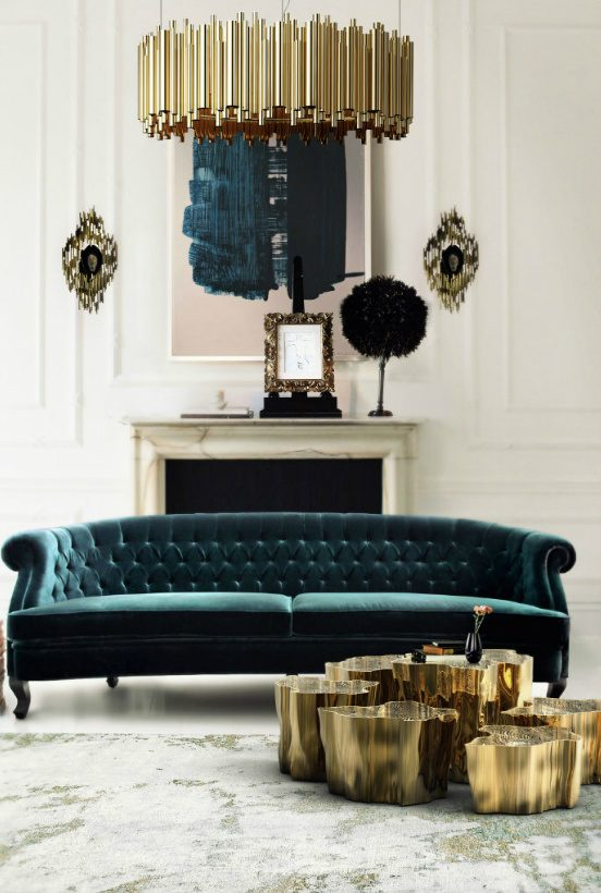 velvet sofas How To Use Velvet Sofas in Your Living Room Decor Interior design tips velvet chesterfield sofa 4 552x820