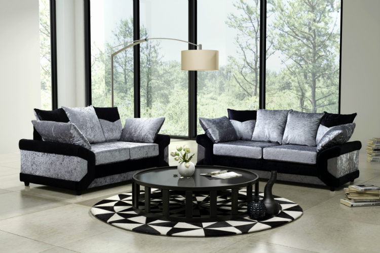velvet sofas How To Use Velvet Sofas in Your Living Room Decor black velvet sofa set best of lovely crushed velvet couch 2018 couches and sofas ideas of black velvet sofa set