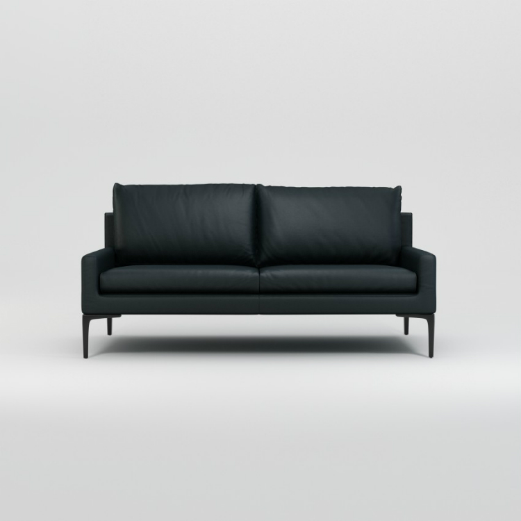 leather sofas leather sofas Embrace the New Year with These Stunning Black Leather Sofas 2 seat sofa LEATHER