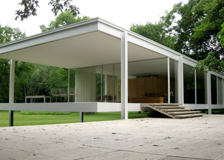 Mid-Century modern mid-century modern 10 Mid-Century Modern Homes by World Acclaimed Designers Farnsworth House