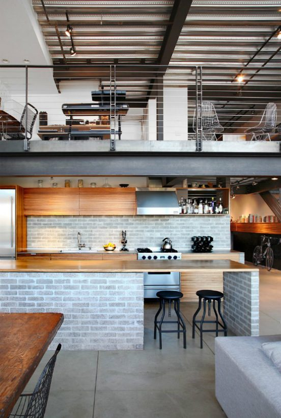 us industrial lofts Get Inspired for 2019 with These Staggering US Industrial Lofts Get Inspired for 2019 with These Staggering US Lofts 3 552x820