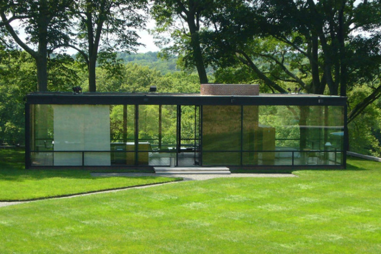 Mid-Century Modern mid-century modern 10 Mid-Century Modern Homes by World Acclaimed Designers Glasshouse philip johnson