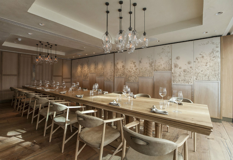 These White Walls these white walls How These White Walls is Changing the World of Interior Design HIDE restaurant 8