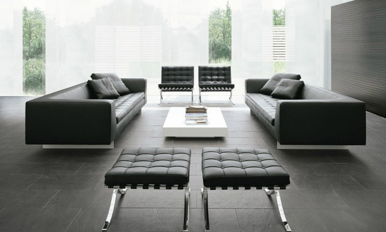 leather sofas Embrace the New Year with These Stunning Black Leather Sofas alivar haero d1 sofa