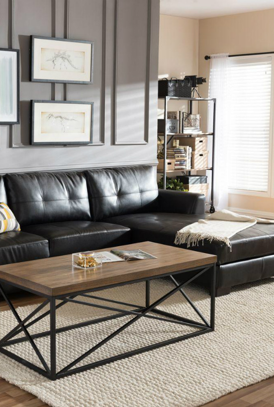 Embrace The New Year With These Stunning Black Leather Sofas