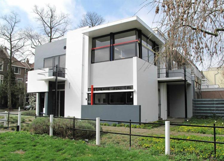 Mid-Century modern mid-century modern 10 Mid-Century Modern Homes by World Acclaimed Designers rietveld schr  der house