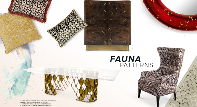 Fauna Patterns – 2019 Inspirational Interior Design Trends interior design trends Fauna Patterns – 2019 Inspirational Interior Design Trends Fauna Patterns 2019 Inspirational Interior Design Trends 01