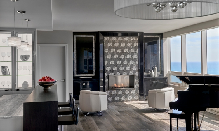 Centaur Interiors centaur interiors Centaur Interiors – Turning Chicago Into a Staggering Landscape living room1