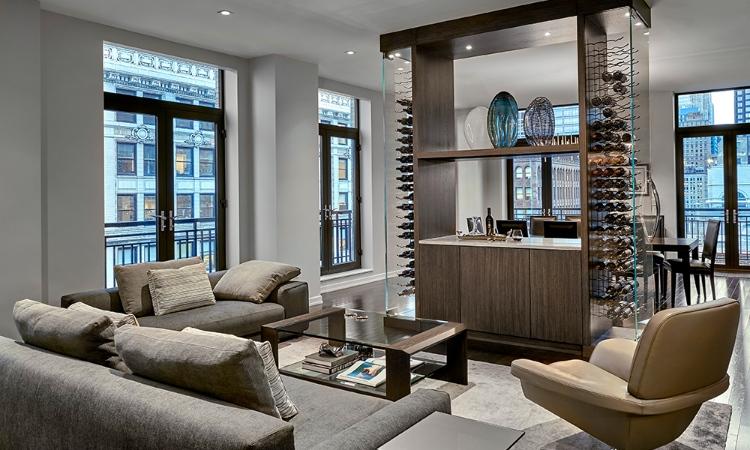 centaur interiors Centaur Interiors – Turning Chicago Into a Staggering Landscape living room6