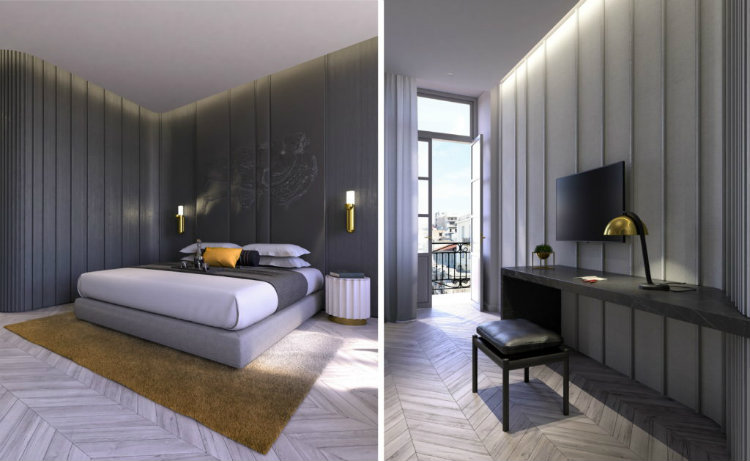 Box Interiors - Aeolos Hotel box interiors Box Interiors: Design Consulting and Showroom Box Interiors Aeolos Hotel