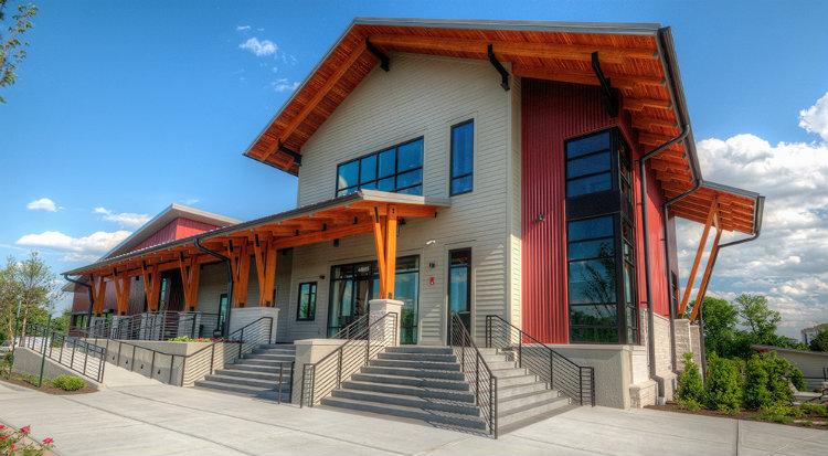 Cline Design - One Loudoun, Community Centre cline design Cline Design: Sustainable Design For All Cline Design One Loudoun Community Centre