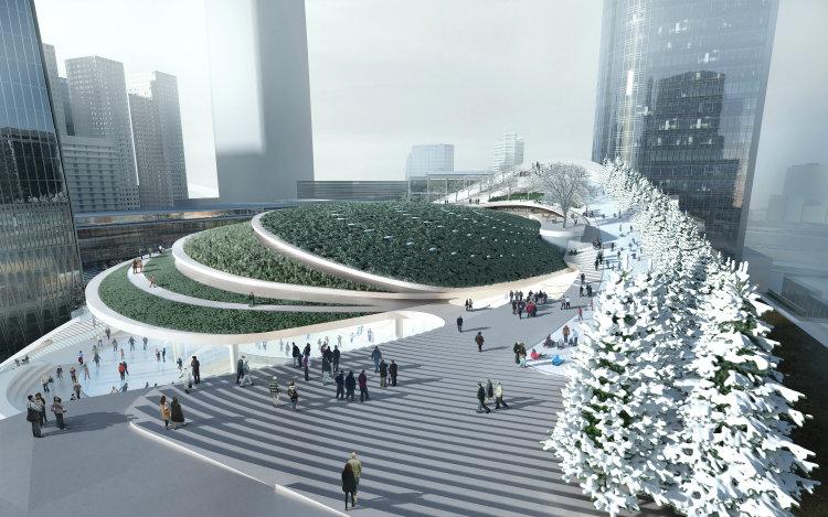 Aedas - China World Trade aedas Aedas: Leading Design Architecture Aedas China World Trade