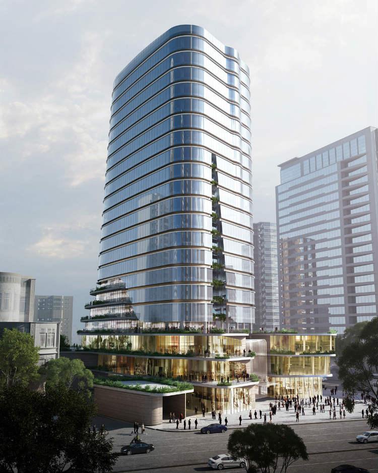 Aedas - Gemdale Changshou Road aedas Aedas: Leading Design Architecture Aedas Gemdale Changshou Road