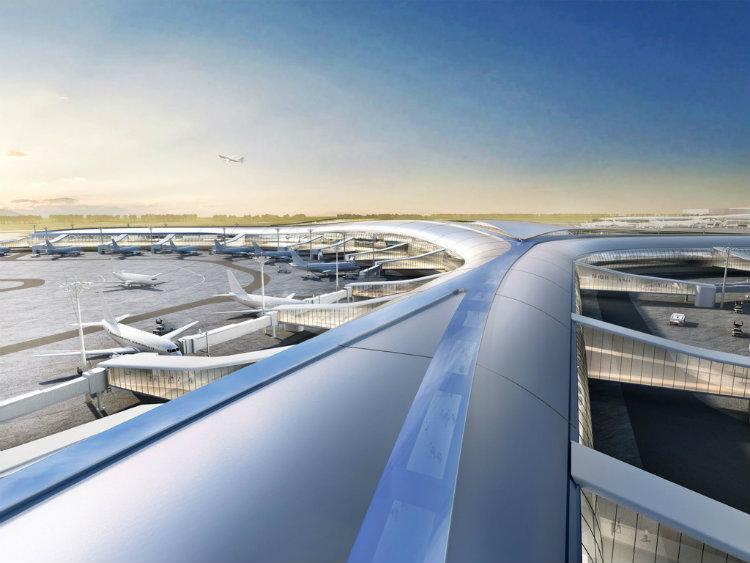 Aedas - Shenzhen Airport aedas Aedas: Leading Design Architecture Aedas Shenzhen Airport