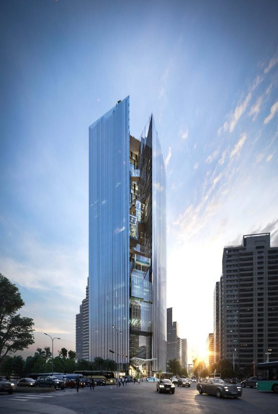 aedas Aedas: Leading Design Architecture Aedas Taichung Commercial Bank capa 552x820