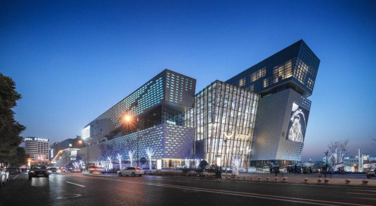 Aedas - The Heart of Yiwu aedas Aedas: Leading Design Architecture Aedas The Heart of Yiwu